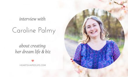 Caroline Palmy's Heart-shaped Life