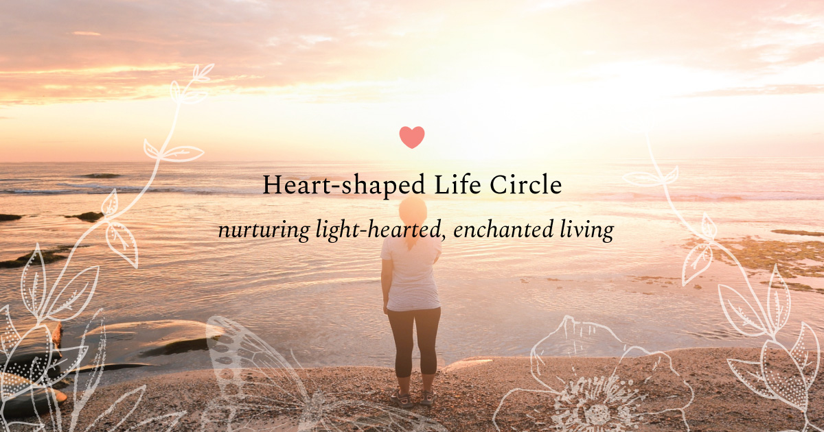 Heart-shaped Life circle
